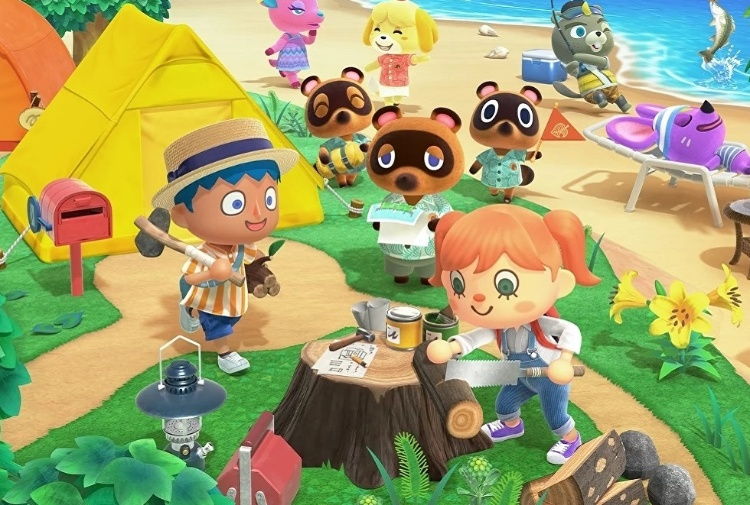 Animal Crossing fa il boom in digital